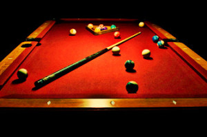 Pool and Billiards Table
